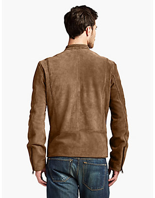 LUCKY SUEDE BONNEVILLE RACER JACKET
