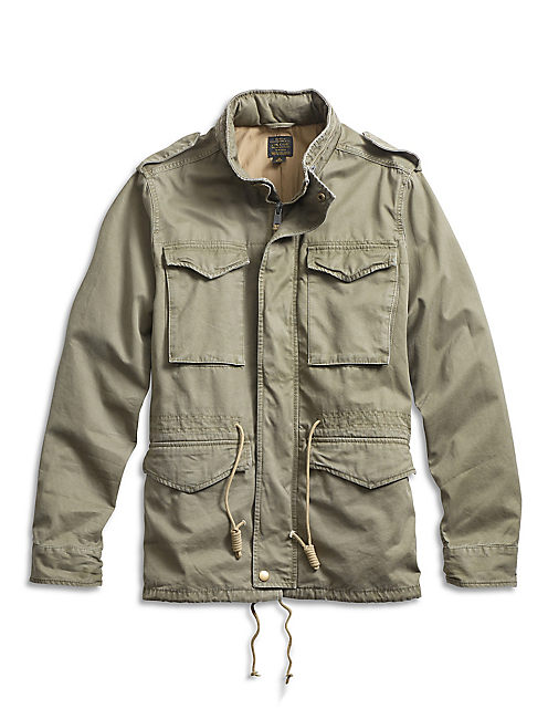 Vintage Field Jacket, FIELD GREEN