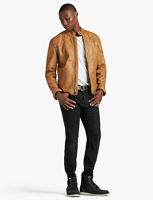 LUCKY THRUXTON LEATHER JACKET