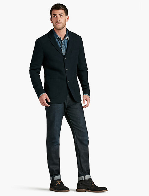 Lucky Hopsack Unlined Sportcoat