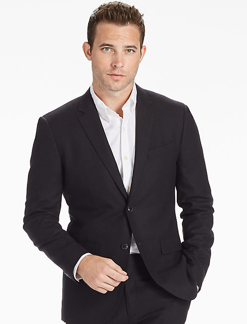 ACE RIDER SUIT JACKET, BLACK