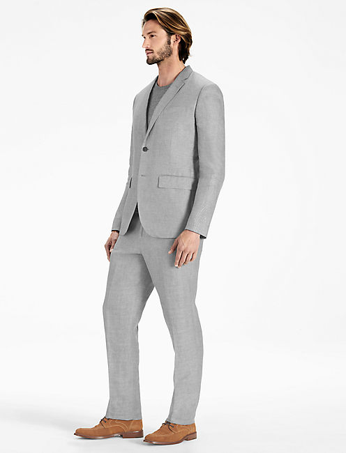 Lucky Ace Linen Suit Jacket