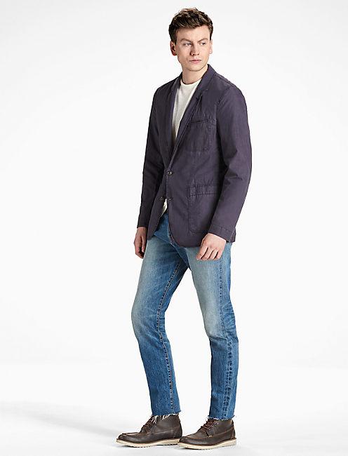 Lucky Ace Garment Dyed Blazer