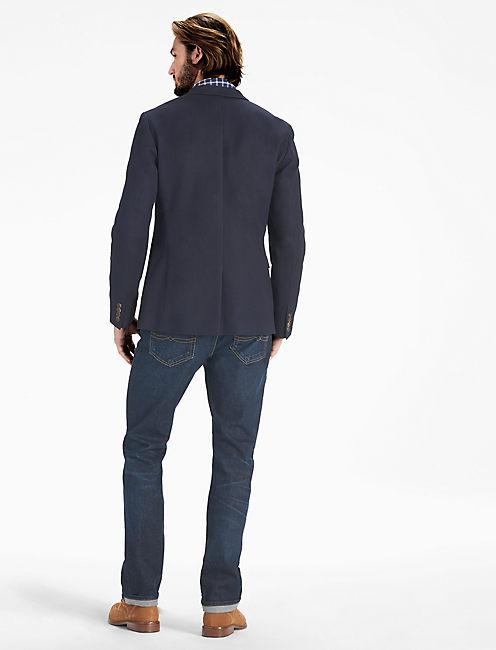 Honeycomb Sport Coat, NAVY
