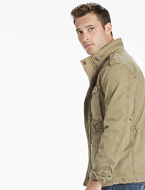 M-65 FIELD JACKET, DEEP LICHEN GREEN