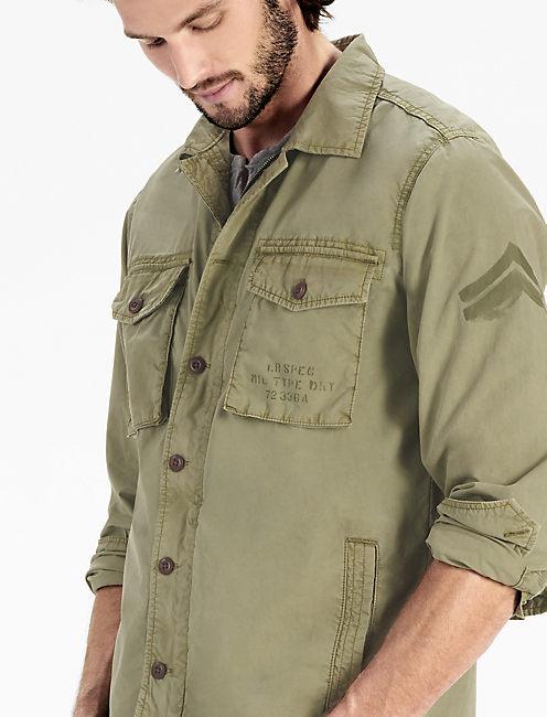 Platoon Jacket, 378 OLIVE