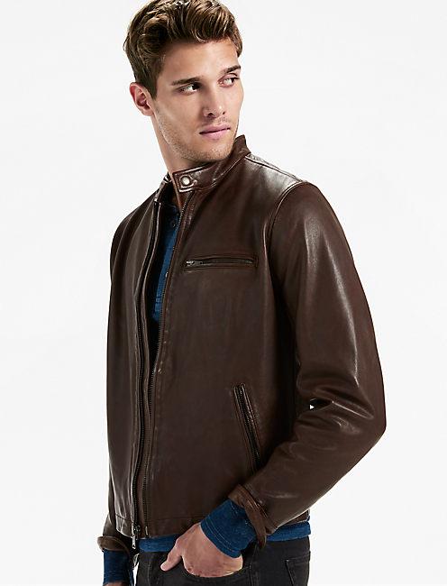 Bonneville Leather Jacket,