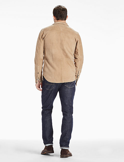 SIERRA SUEDE SHIRT JACKET,