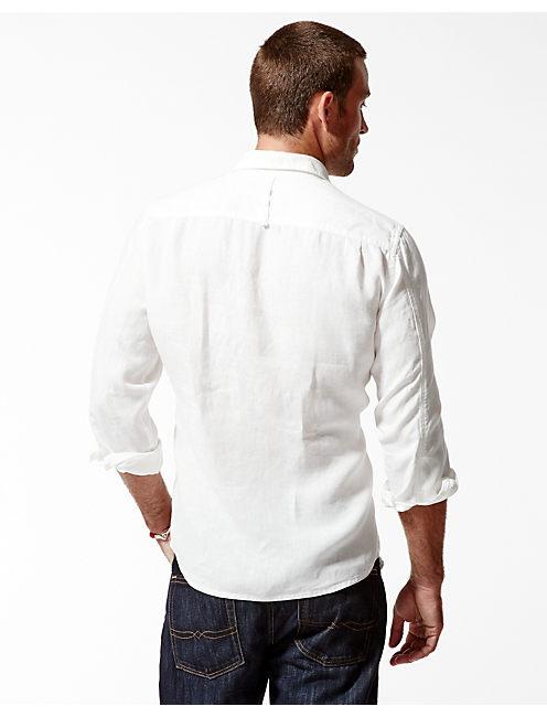 VENTURA LINEN SHIRT, WHITE