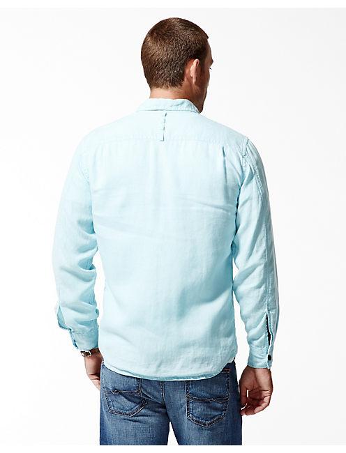 VENTURA LINEN SHIRT, SPRING BLUE #4982