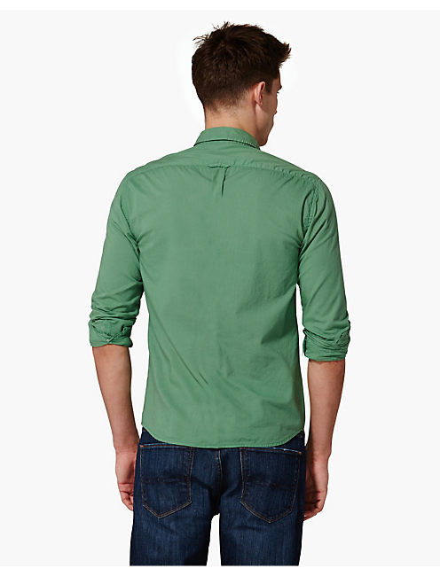 SURF WASH SHIRT, PINE GREEN
