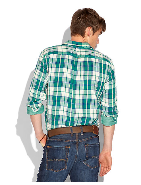 CHUCKWALLA PLAID 2 POCKET, GREEN PLAID