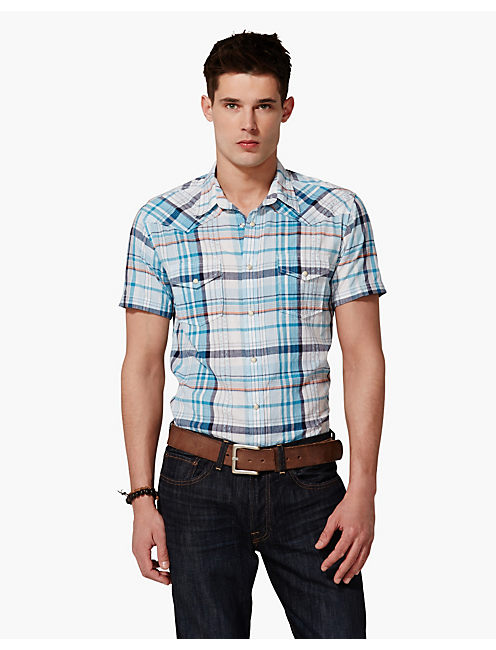 DOBBY JOE WESTERN SHIRT, MULTI