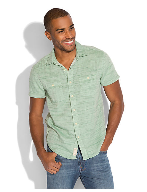 SYDNEY 2 POCKET SHIRT, 915 GREEN