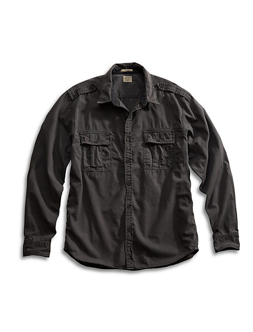 IRON WORKWEAR SHIRT, BLACK MOUNTAIN