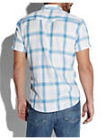INDIO WESTERN SHIRT, BLUE PLAID