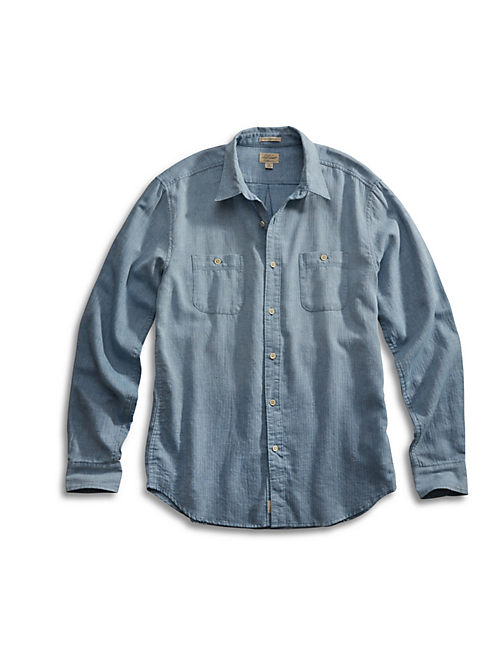 DEL MAR 2 POCKET SHIRT, LIGHT BLUE