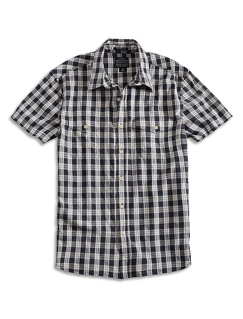 Lucky Brand Diablo Western Shirt Mens $14.98 AT vintagedancer.com
