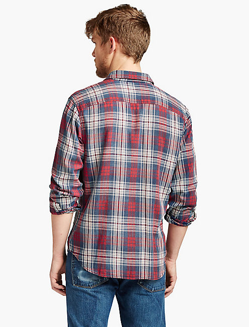 LUCKY JON INDIGO WORKWEAR SHIRT