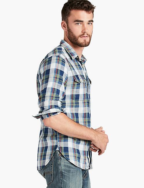 San Pedro Indigo Workwear Shirt,