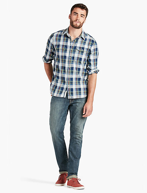 LUCKY San Pedro Indigo Workwear Shirt