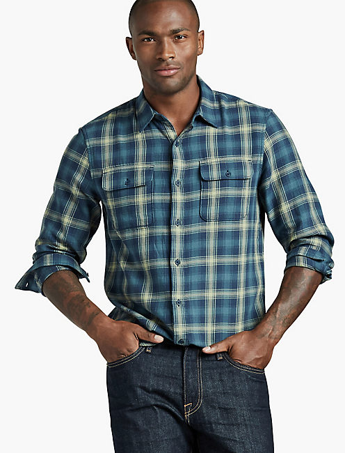 Lucky Brand Mens Clean 2-Pocket Shirt