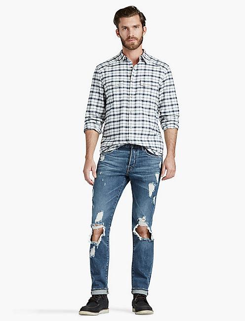 Textured Martin Western Shirt,
