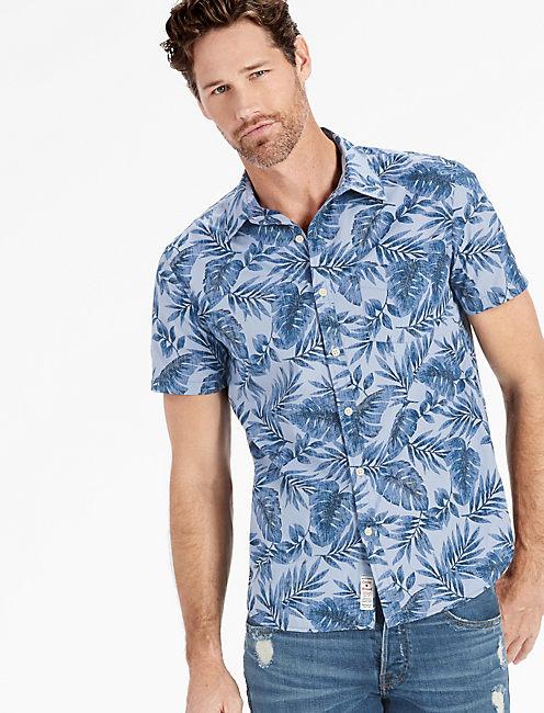 Palmetto Short Sleeve Ballona Shirt,