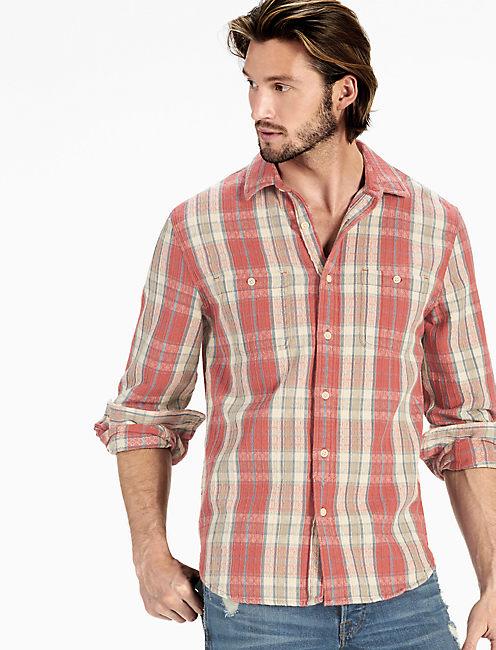Jacquard Mason Workwear Shirt,