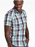 Short Sleeve Santa Fe Western Shirt,