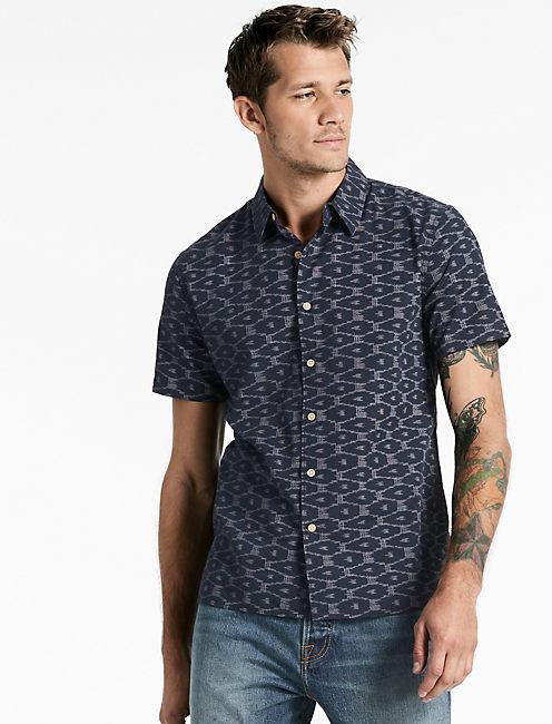 Ikat Aloha Shirt,