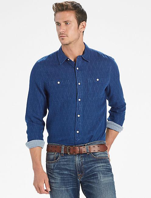 McKinley Indigo Workwear Shirt,