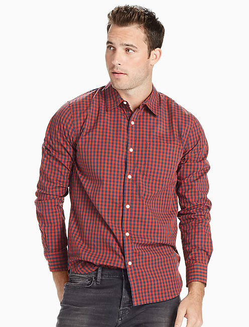 Saturday Stretch Poplin One Pocket Shirt,