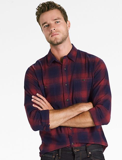 Saturday Stretch Workwear Flannel Shirt,