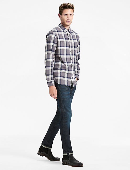 Lucky Saturday Stretch One Pocket Flannel Shirt