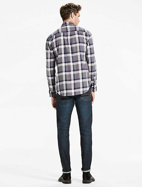 Saturday Stretch One Pocket Flannel Shirt,
