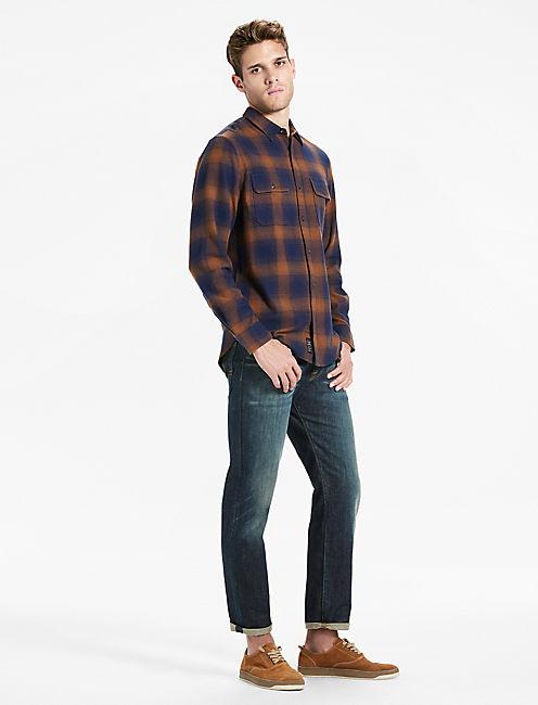 Lucky Saturday Stretch Workwear Flannel Shirt