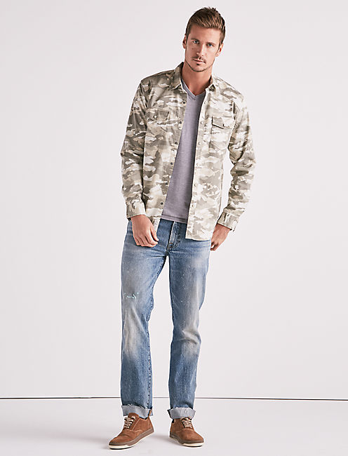 Lucky Camo Workwear Western Shirt