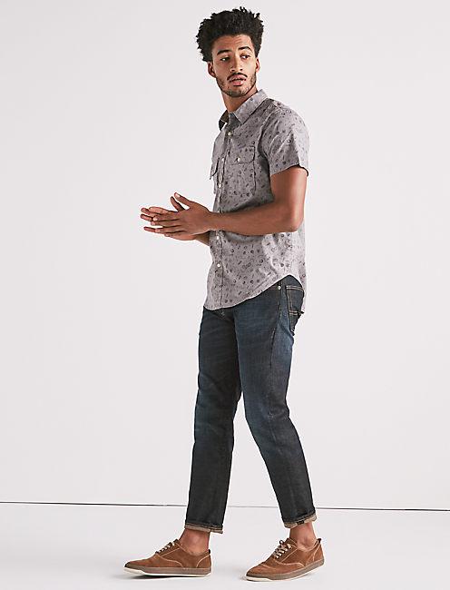 Lucky Mason Workwear Printed Shirt