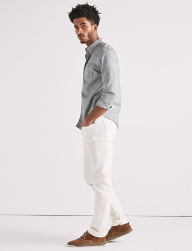 Lucky Stretch Oxford One Pocket Shirt