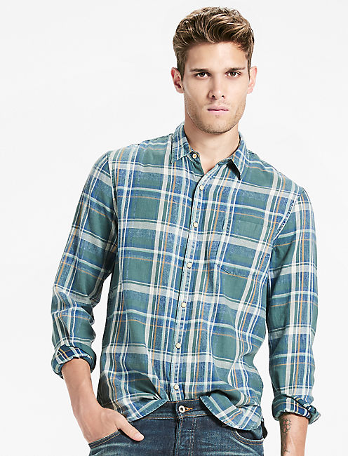 Sutton Indigo Shirt,