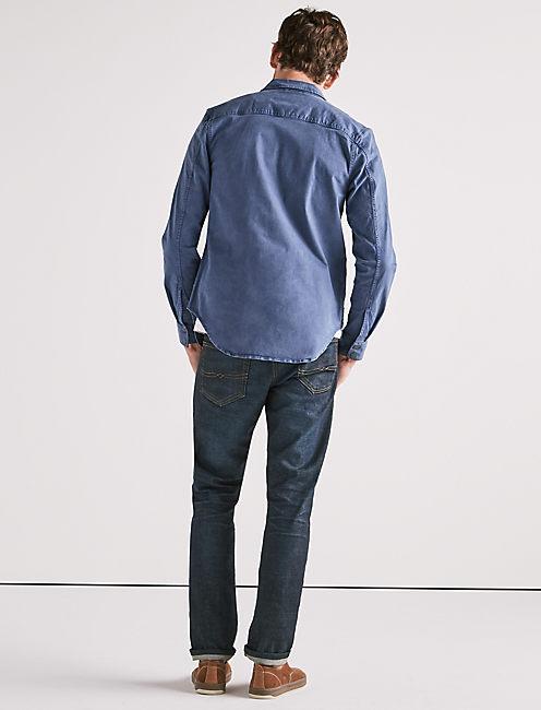 Stretch Twill Shirt Jacket,