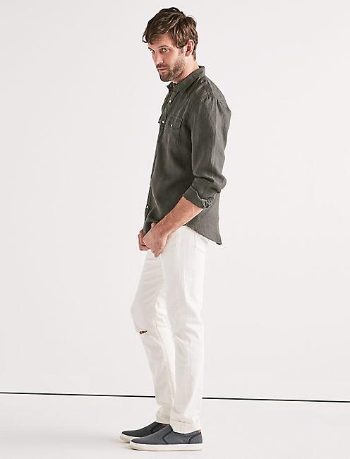 Lucky Laguna Linen Western Shirt