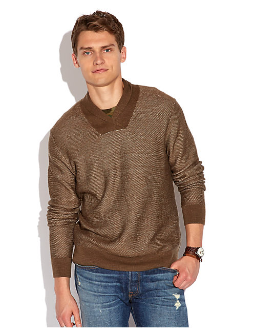 SHAWL PULLOVER, 310 OLIVE