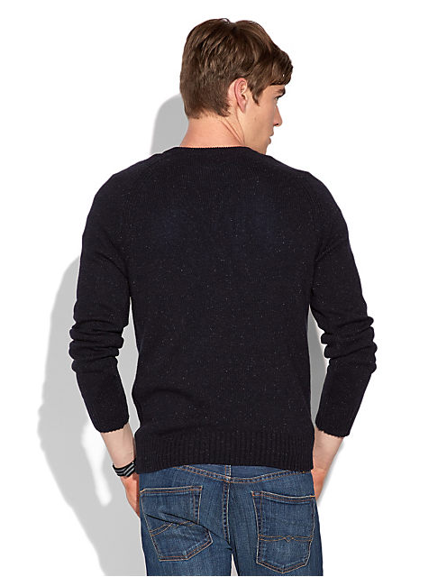 VISTA V NECK SWEATER, AMERICAN NAVY