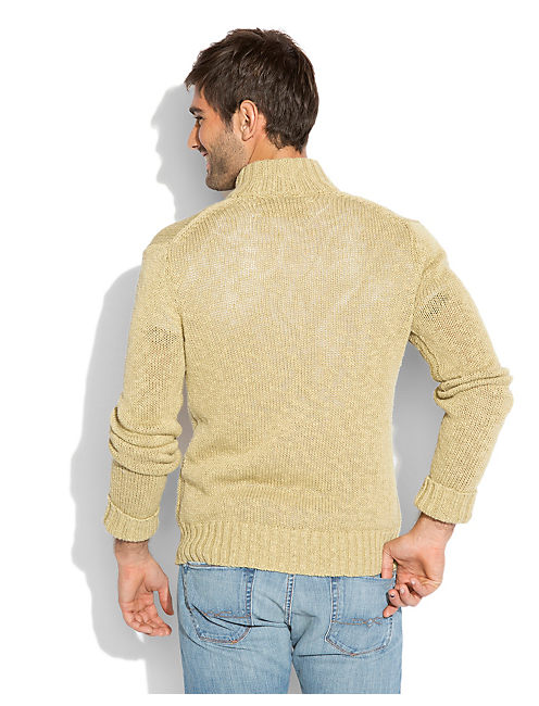 DEADWOOD FULL ZIP SWEATER, 271 KHAKI