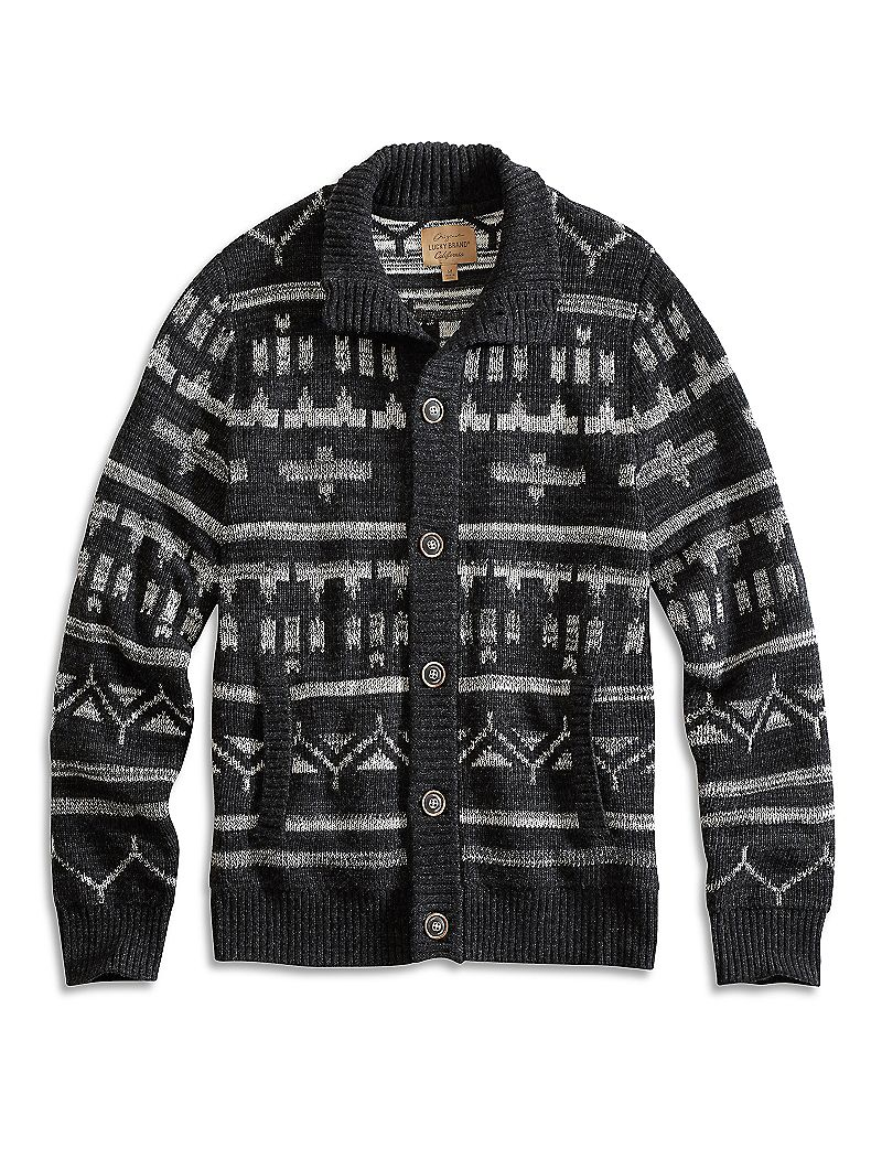 Lucky Brand Glacier Pass Button Mock Mens $149.00 AT vintagedancer.com