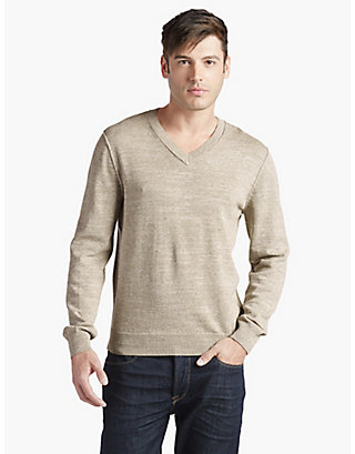 LUCKY WHITE LABEL VNECK SWEATER