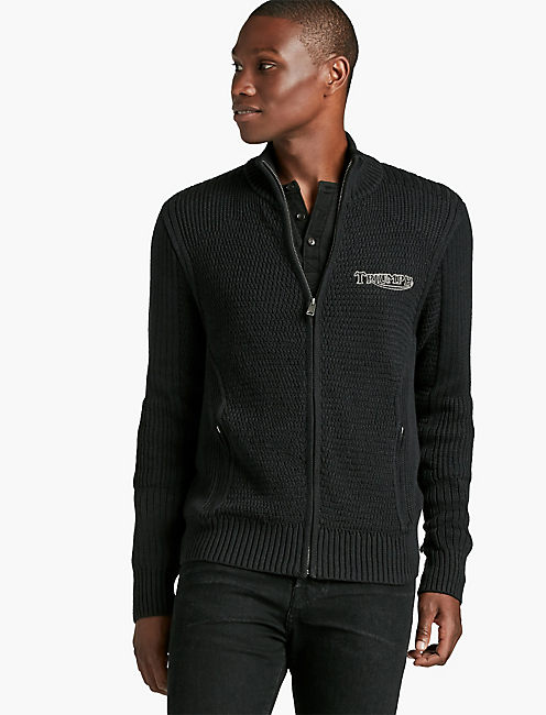 MOTO MOCK FULL ZIP,