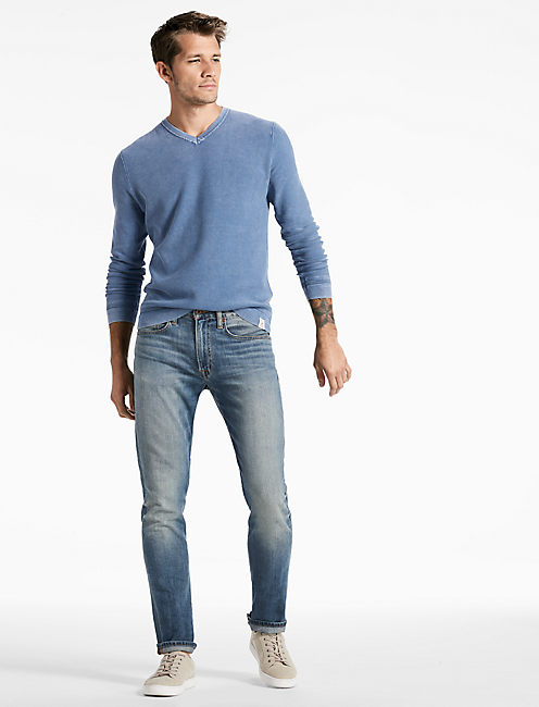 Lucky Washed V-neck Sweater